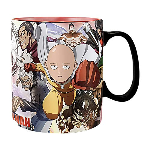 ABYstyle - ONE PUNCH MAN - Taza cambia color con calor...