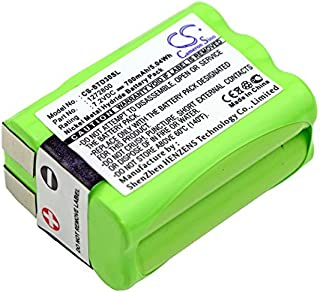 CameronSino Replacement Battery for TRI-TRONICS Classic 70 G3/Field 90/Flyway,Part NO 1272800,1281100 Rev.B Control Backup Battery 700mAh/5.04Wh/7.2V, Green