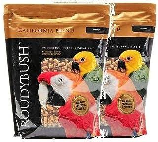 RoudyBush California Blend Bird Food, Medium, 44-Ounce (2-Pack)