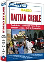 Haitian Creole, Basic: Learn to Speak and Understand Haitian Creole with Pimsleur Language Programs by Paul Pimsleur (2010...