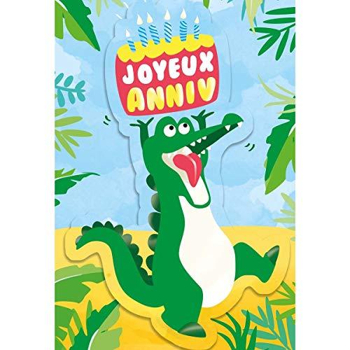 Draeger Paris - Carte Musicale Anniversaire Ah Les Crocodiles