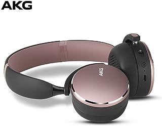 AKG Y500 WIRELESS无线蓝牙耳机 头戴式游戏耳机 手机通用 环境感知可通话 粉色