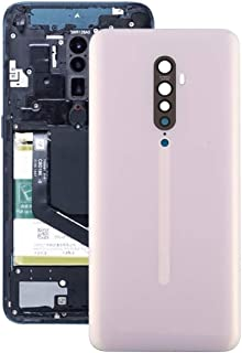 Battery case Jrc Back Cover for OPPO Reno2(Black) Mobile phone accessories (Color : Pink)