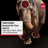 Le Carnaval des animaux : Poules et coqs - Hemiones - Tortues - L'éléphant - Kangourous - Aquarium