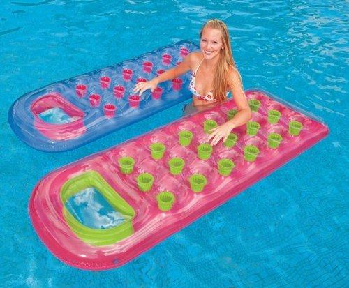 Intex 18-Pocket Suntanner Lounge Floating Lounger - (Set of 2)   59895EP