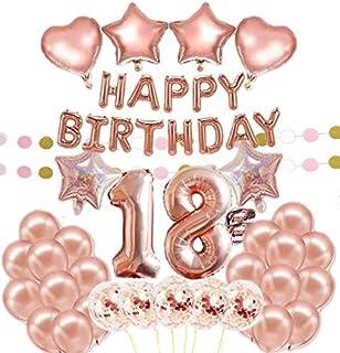 47 Piezas Globos Látex De Feliz Cumpleaños Para Grande