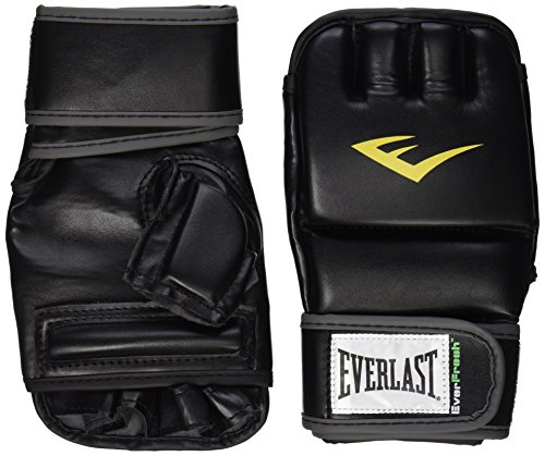 Everlast Wrist Wrap Heavy Bag Gloves Large/X-Large, Black