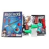 Pandiki Ilusión Magia de los niños Juguetes Set Principiantes Hijos Adultos mágica para Adultos Trucos del Kit, Trucos de Magia de Juguete Intelligence Development Kit