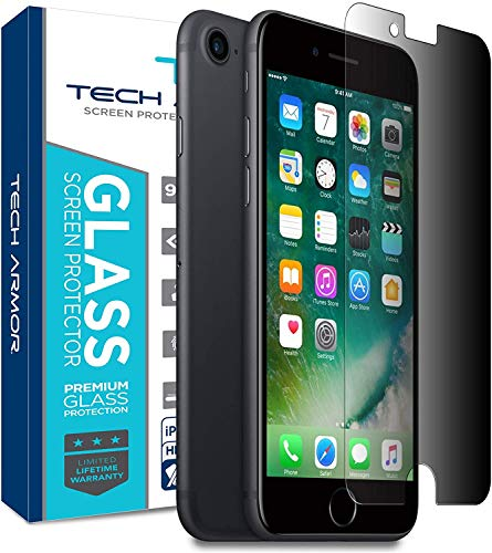 Tech Armor Privacy Ballistic Glass Screen Protector for Apple iPhone 6 Plus iPhone 6s Plus (5.5-inch) [1-Pack]