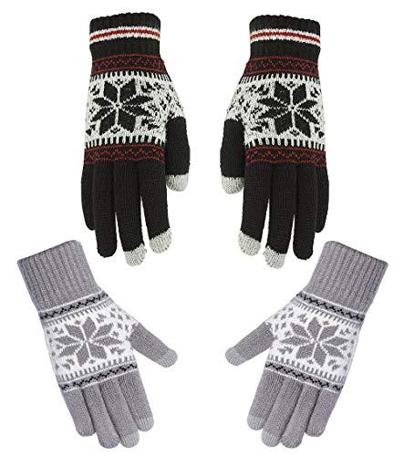 Opplei Touchscreen handschoenen smartphone handschoenen slijtvast warme fleece binnenvoering waterdicht unisex handschoenen voor sport mountainbike klimmen