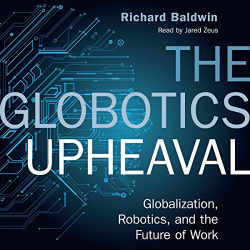 The Globotics Upheaval audiobook cover art