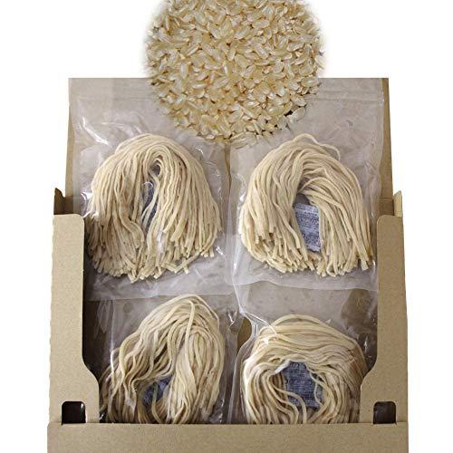 特別栽培米 ゆうだい21 単一原料米 グルテンフリー ヌードル 米粉麺(玄米麺)セット (米粉麺 米粉で出来たラーメン ライスヌードル ダイエット にも)15年以上無農薬、無化学肥料、除草剤不使用にこだわる 渡良瀬の稔り 池田農園 栃木県産 にほんアグリた