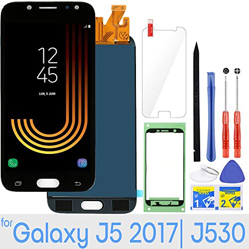 LCD Screen Replacement Touch Digitizer Display 5.2' (Black) for Samsung Galaxy J5 Pro 2017 J530 J530F J530S J530K J530L J530FM J530Y J530YM