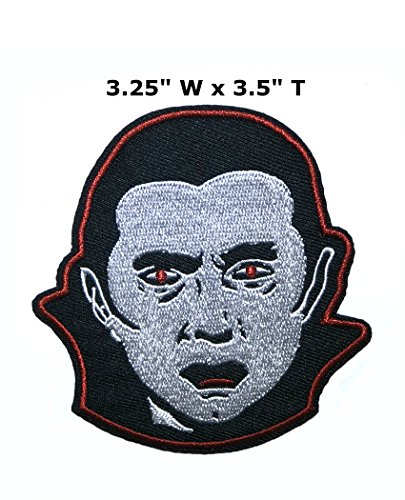 Application classique Halloween Friday the 13th Dracula Cosplay badge brodée fer ou Sewn-on Applique Patch