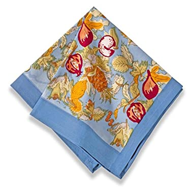 Couleur Nature Tutti Frutti Blue/Red Napkin 19x19, Set of 6