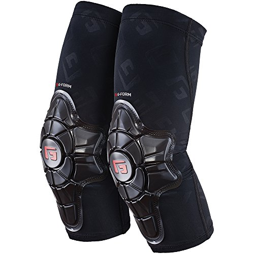 G-Form Pro-X Elbow Pads(1 Pair), Black Logo, Youth Large X-Large