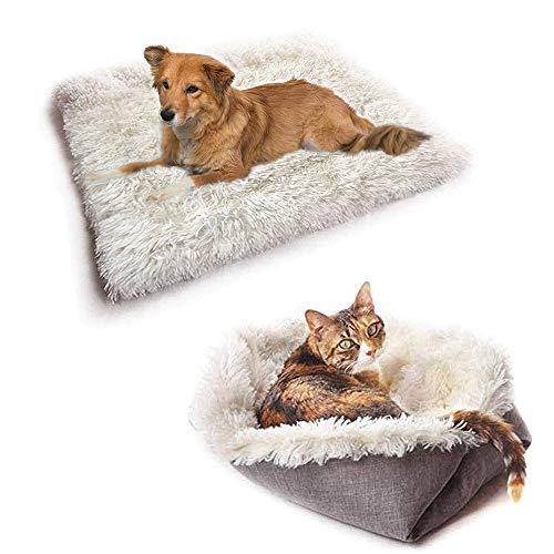 New-wish Tierbett für Katzen und Hunde, Kissen für Katzenbett waschbar, Sofa für Katzen und kleine Hunde, leicht zu entfernen und zu waschen