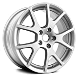 Partsynergy Replacement For New Aluminum Alloy Wheel Rim 19 Inch Fits 2011-2018 Dodge Journey 127mm 10 Spokes