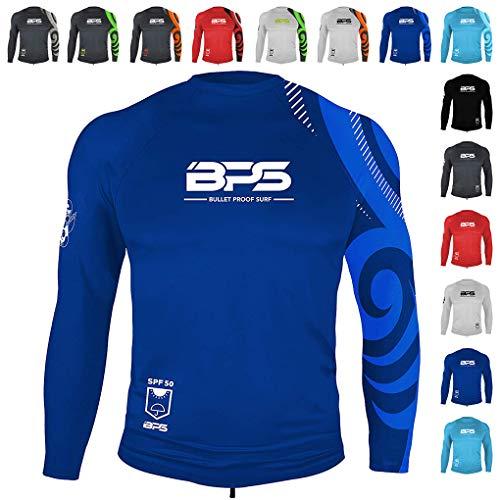 BPS UPF 50+ - Camiseta de manga corta y larga para hombre
