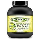 SLIMMY - Dieta baja en carbohidratos - 100 % de aislado de proteína de soja, 1000g vainilla