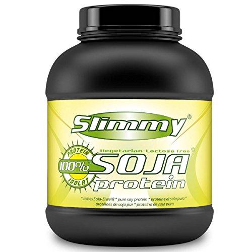 Slimmy - Dieta a basso contenuto di carboidrati - 100% isolato proteico di soia, 1000g vaniglia