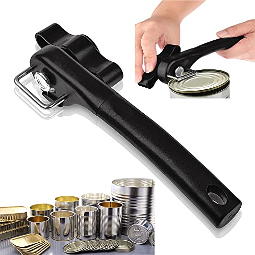 Safe Cut Can Opener,Professional Multifunction Can Opener,Ergonomic Smooth Edge,Stainless Steel Safety Bottle Opener,Side Cut Manual Can Opener,Can Opener Handheld
