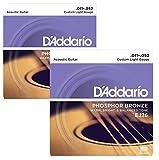 D'Addario EJ26 Acoustic Guitar Strings - 2 Packs