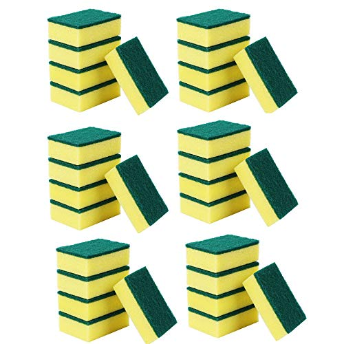 2.Esponjas de Limpieza,Kitchen Nano Emery Magic Clean Rub Pot Kit para Eliminar Manchas focales de óxido 30 pcs (A)