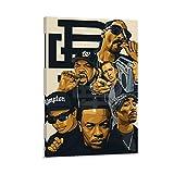 2pac Ice Cube Snoop Dogg Eminem Leinwand Kunst Poster und