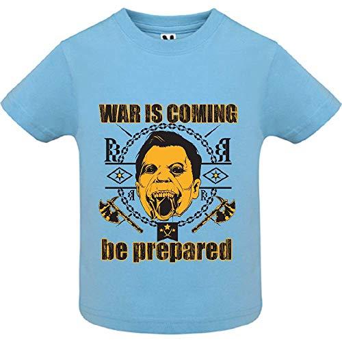 LookMyKase T-Shirt - World War - Bébé Garçon - Bleu - 6mois