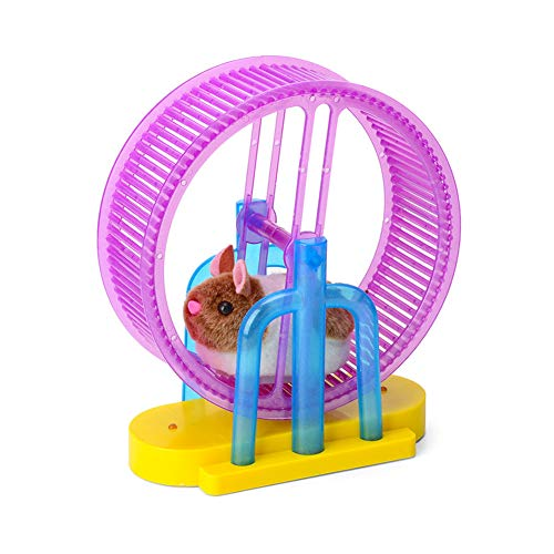 HOSui Juguetes Hamster Rueda Hamster Juguetes para Conejos Bola Hamster Accesorios Conejos Juguetes Cobayas para HáMsters Ardillas Chinchillas Animales PequeñOs