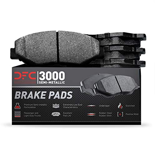 Front Dynamic Friction Company 3000 Semi-Met Brake Pads 1311-1910-00