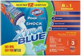 Clorox Pool&Spa Shock XtraBlue 12 Pack (1 lb Bottles)
