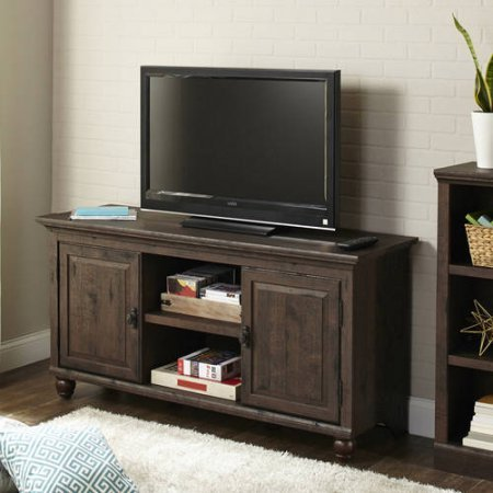 Better Homes and Gardens Crossmill Collection TV Stand Buffet for TVs up to 65 (Heritage Walnut)