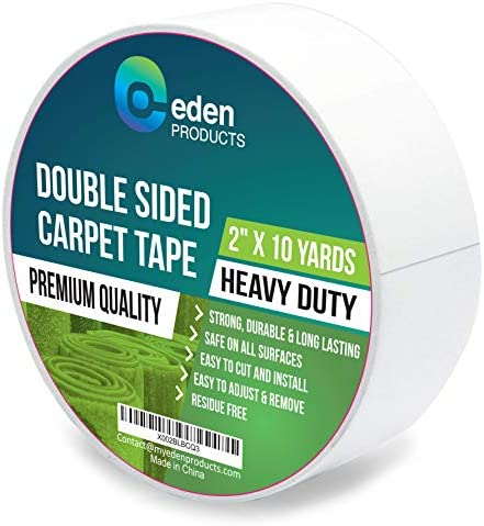 EdenProducts Double Sided Sticky Carpet Tape for Area Rugs Carpets Mats Heavy Duty Multi Purpose product image