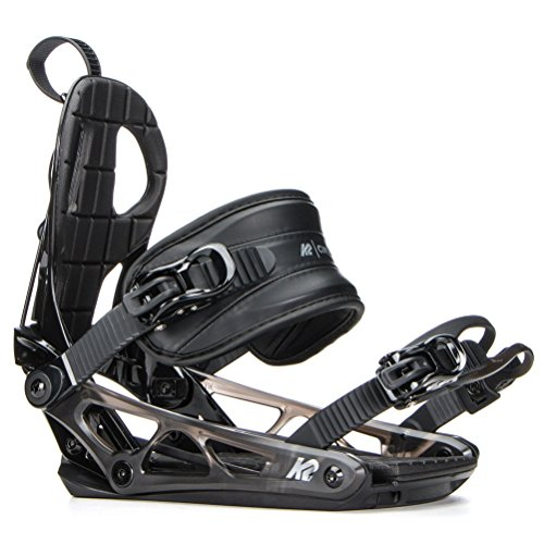 K2 Cinch TC Black Snowboardbindung, schwarz, M