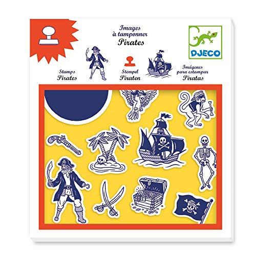 Djeco DJ08917 Für ältere Kinder – Briefmarken, gemischt