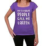 Photo de Femme Tee Vintage T Shirt Loreen Medium Violet