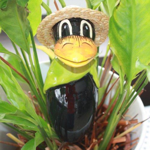 Tangoo keramische raf MINI met hoed, kiwi-groene halsdoek
