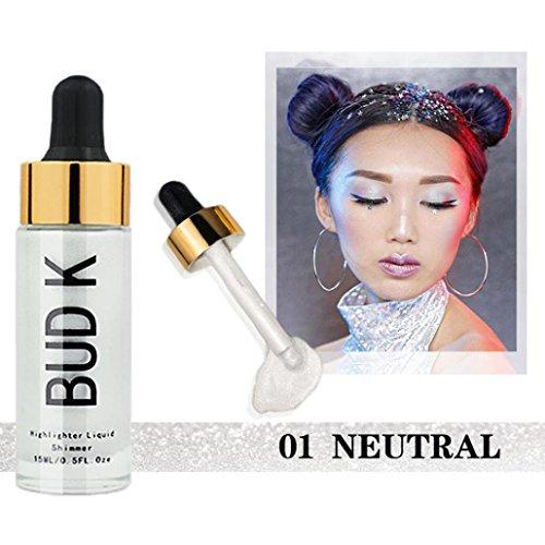 Toamen Nuevas Promociones! Cara Base De Maquillaje Corrector LíQuido Base Hidratante Control De Aceite Crema BB (A01)
