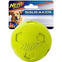 Nerf Dog Soccer Squeak Ball Dog Toy (Green)