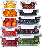Glass Food Storage Containers with Lids - Glass Meal Prep Containers Glass Containers For Food...