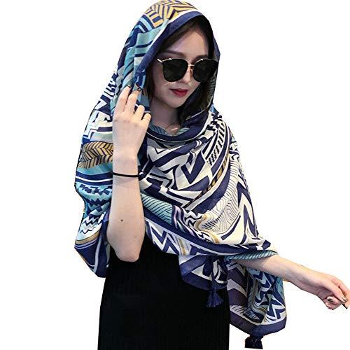 Vellette Pareos & strandjurken bloem gedrukt halsdoeken meisjesdoek hoofddoek halsdoek wrap doeken stolen voor dames bloemen sjaal bikini cover jurk