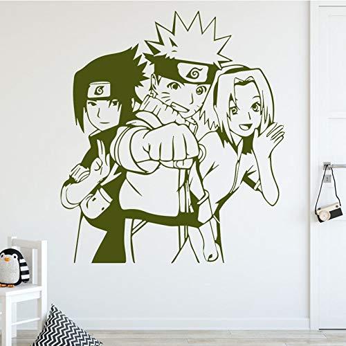 Etiqueta engomada de la pared del vinilo del papel del diseño del personaje de dibujos animados