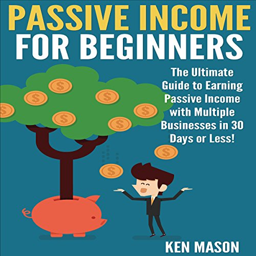 Passive Income for Beginners audiobook cover art
