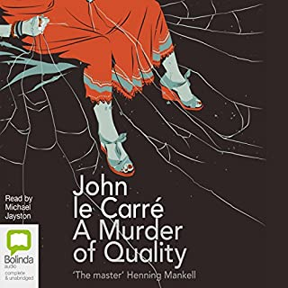 Couverture de A Murder of Quality