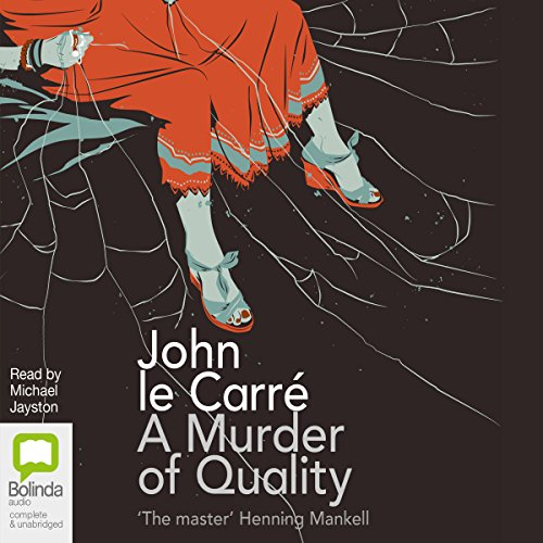 A Murder of Quality audiobook cover art