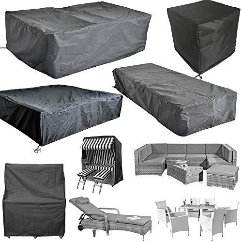 Bc-elec - HMRC-10 Schutzabdeckung für Gartentische & -möbel, Oxford 210D + UV-Behandlung, 247x130x108cm