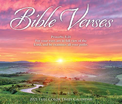 Bible Verses 2021 Box Calendar