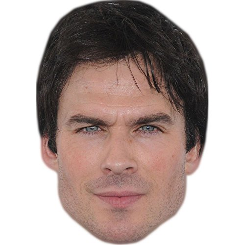 Celebrity Cutouts Ian Somerhalder Maske aus Karton